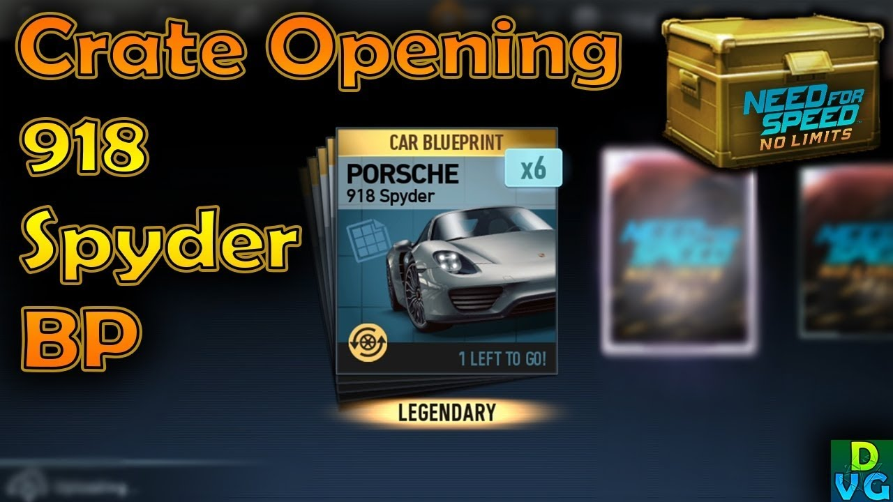 Nfs no limits premium crate opening for 918 spyder blueprints nfs no limits premium crate opening for 918 spyder blueprints malvernweather Image collections