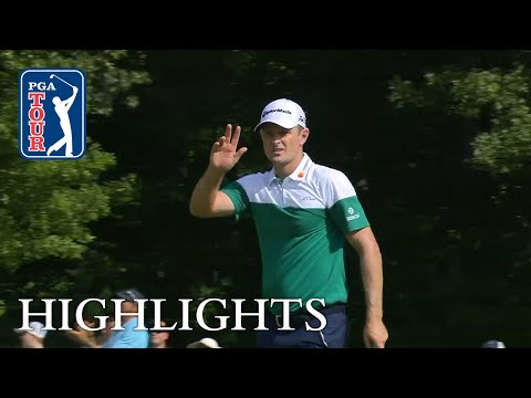 Justin Rose's Round 2 highlights from Dell Technologies 2018