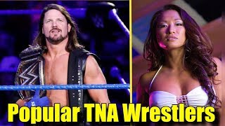 10 Popular Wrestlers That Left TNA Wrestling: Where Are They Now? - AJ Styles, Gail Kim & More!