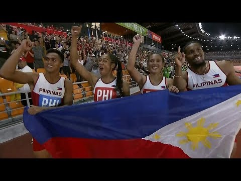 Redemption For Eric Cray, PH Team In Mixed Relay   2019 SEA Games
