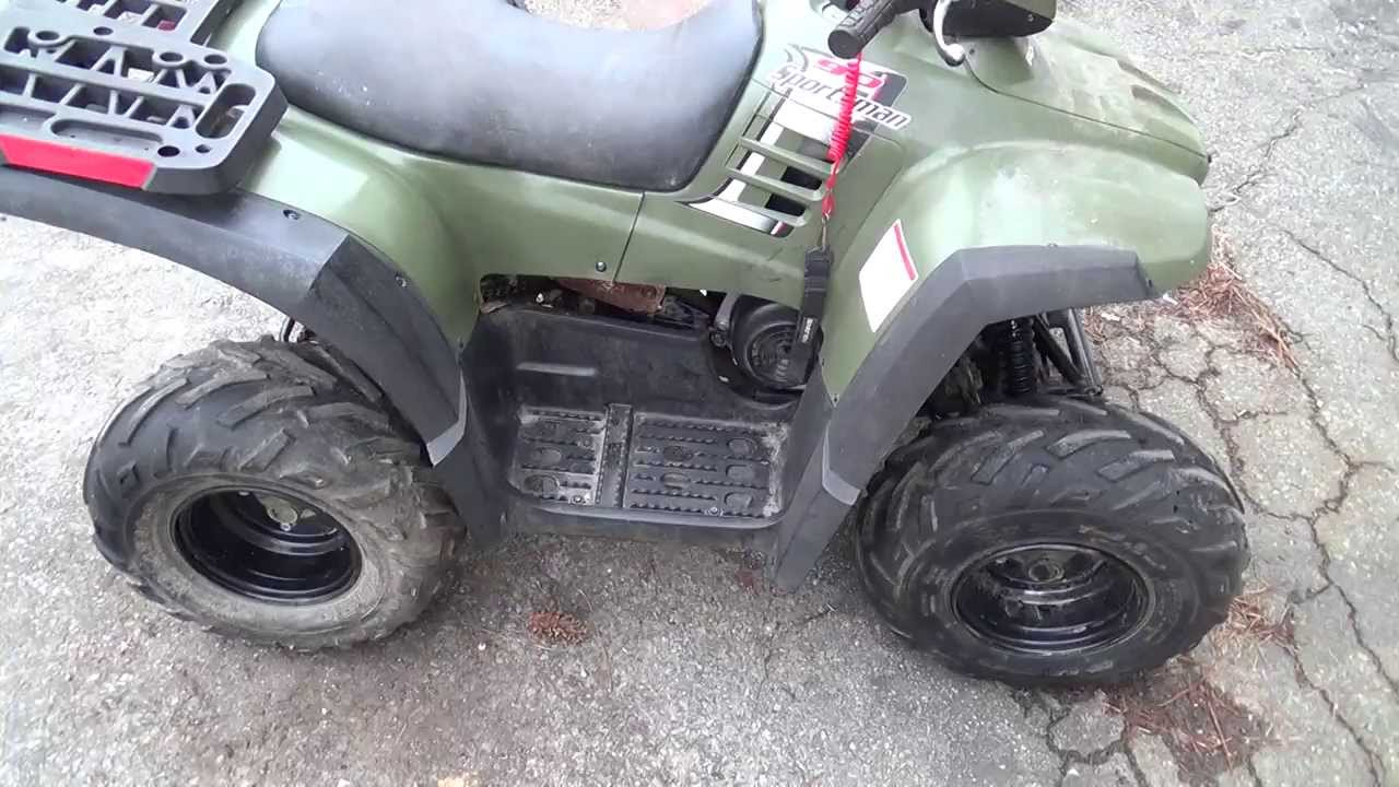 Polaris Sportsman 90 - Running