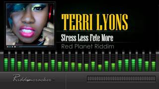 terri lyons stress less fete more red planet riddim soca 2016 hd