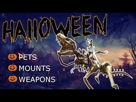 Order & Chaos Online | HALLOWEEN | Mounts/Pets/Weapons