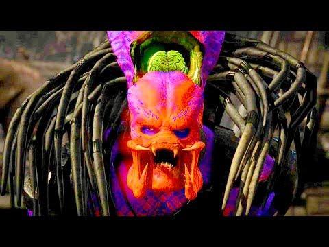 Mortal Kombat XL - All Fatalities & X-Rays on Predator Toxic Costume Mod 4K Ultra HD Gameplay Mods