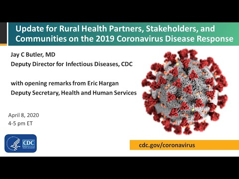 Update for Rural Partners and Communities on the Coronavirus Disease 2019 (COVID-19) Response