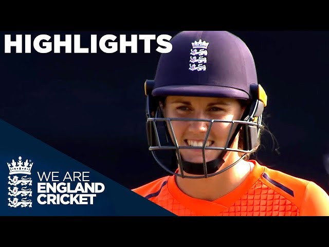 Emphatic England Win Tri-Series Trophy 