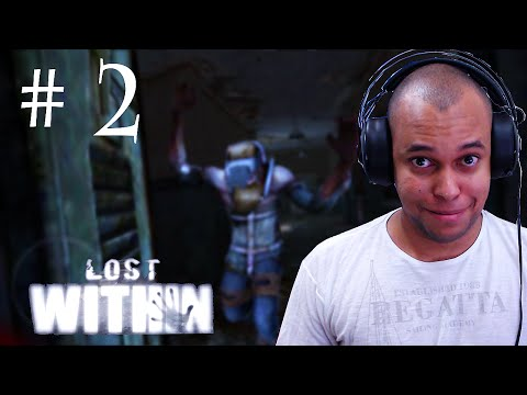 LOST WITHIN GAMEPLAY ANDROID ( FIQUEI PRESO ! ) - PARTE 2