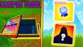 Secret Tunnel, Roadtrip Skin & New Items! | Fortnite Battle Royale