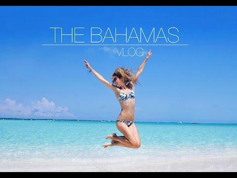 BAHAMAS, VLOG   Nassau, Exuma, Pig beach, swim with sharks ♡
