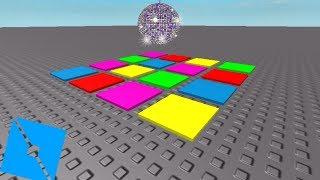 Comment faire un plancher de disco! Studio Roblox