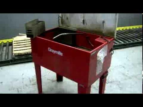 Graymills Parts Washer on GovLiquidation com