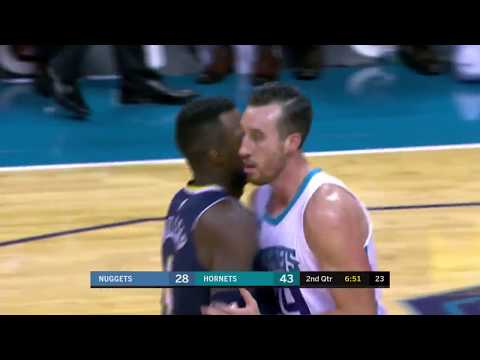 Denver Nuggets vs Charlotte Hornets: October 25, 2017