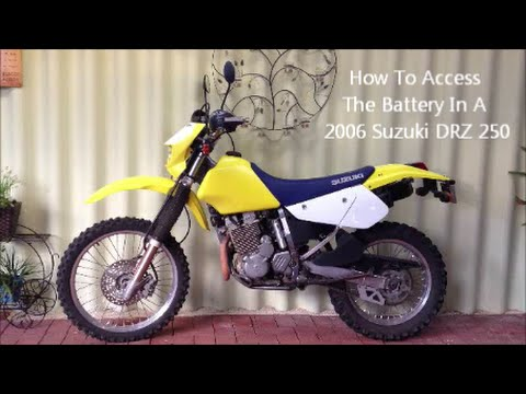 Suzuki Drzsm Battery
