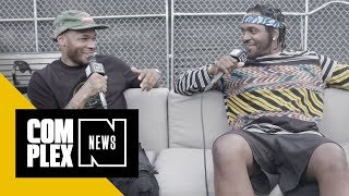 Pusha T, Lil B Talk Favorite Moments of Made in America 2018