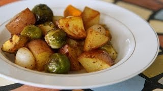 How To Make Oven Roasted Vegetables