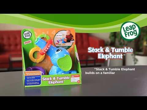LeapFrog® Stack & Tumble Elephant