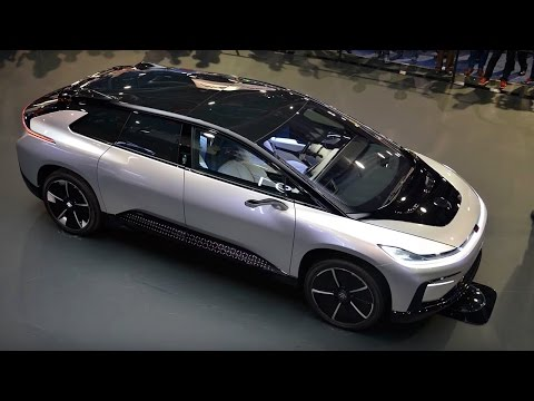 Thumbnail: Rory Reid On The Faraday Future FF 91 - Top Gear: 0-60