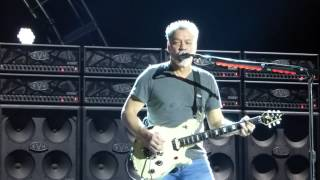 """Feel Your Love Tonight"" Van Halen@Susquehanna Bank Center Camden, NJ 8/27/15"