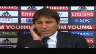 Milan Juventus 1 1 goal annullati Lite Conte Boban