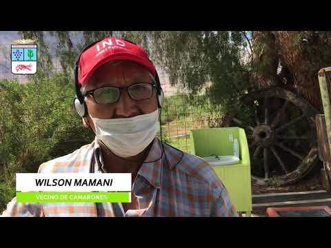 Control sanitario en el pueblo de Camarones (01 de junio)