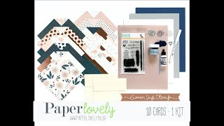 10 Cards, 1 Kit | Simon Says Stamp October 2017 (Part 1 of 2)
