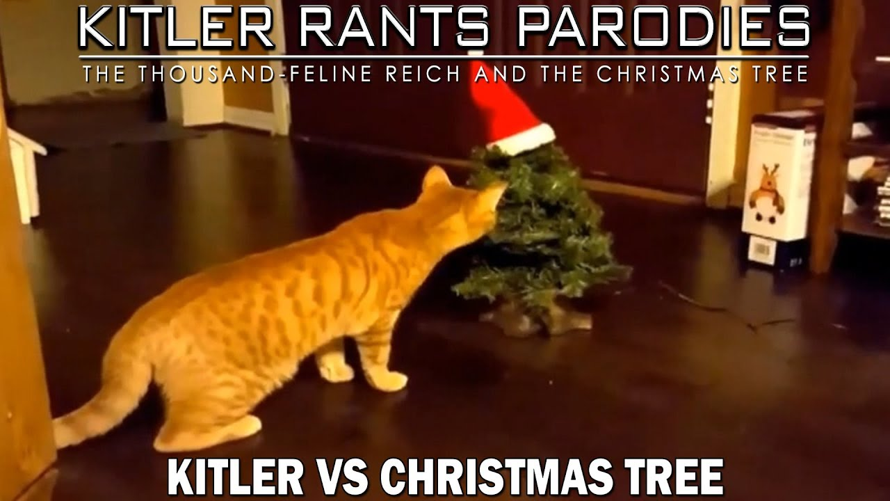 Kitler Vs Christmas Tree