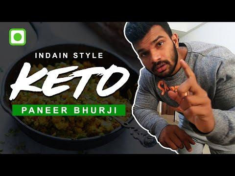 Indian Keto Paneer Bhurji | Scrambled Cottage Cheese | Easy Keto Recipes
