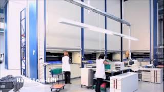 видео: Лифтовые стеллажи H