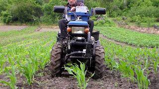 Окучить кукурузу не удалось, пришлось повторно культивировать(, 2016-06-04T20:25:09.000Z)