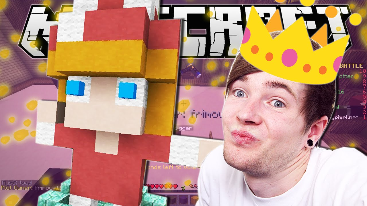 Minecraft | PRETTY PRINCESS!! | Build Battle Minigame