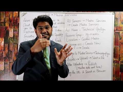 Azure Media Services-Hindi/Urdu | AZ-103 Tutorials | Microsoft Azure Tutorial For beginners