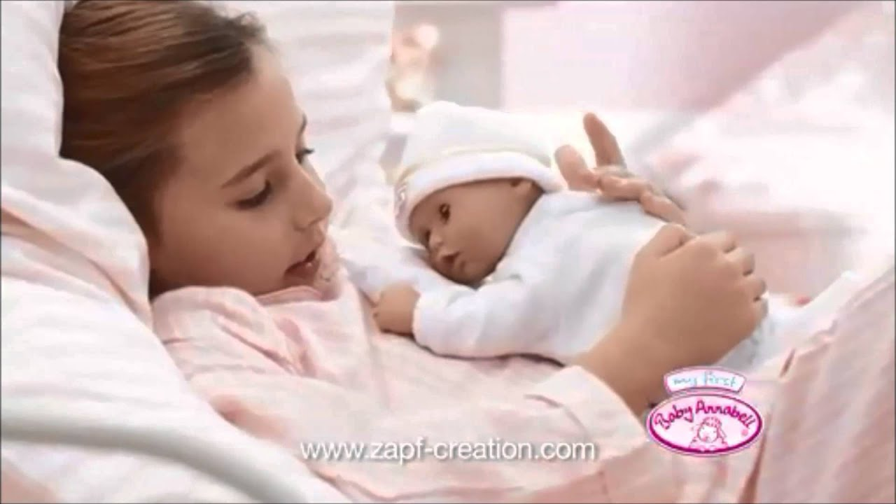 My First Baby Annabell Time To Sleep - YouTube