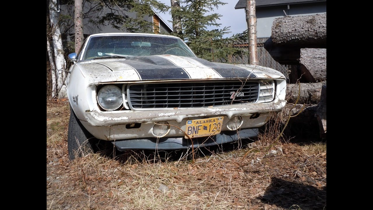 1969 Camaro RS/SS First Start up in 28 Years: Project Update 3 Years ...