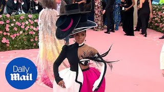 Janelle Monae wears eye-catching outfit at the 2019 Met Gala