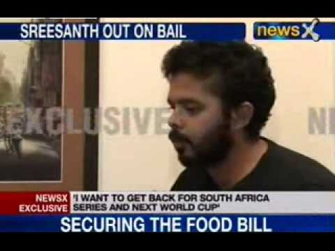 S Sreesanth Exclusive interview on Match Fixing