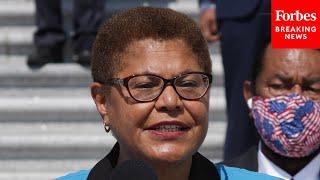 Karen Bass Asks FBI Director About Surveillance Of Black Lives Matter Protests And Organizers