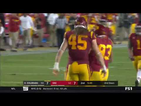 Football: USC 31, Colorado 20 - Highlights 10/13/18