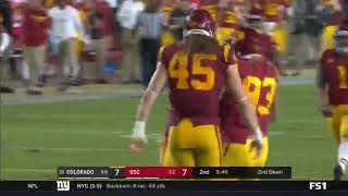 Football: USC 31, Colorado 20 - Highlights 10/13/18