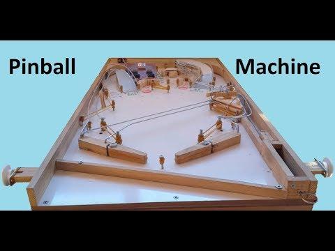 Homemade Pinball Machine (Ev Yapımı Pinball Oyuncağı)