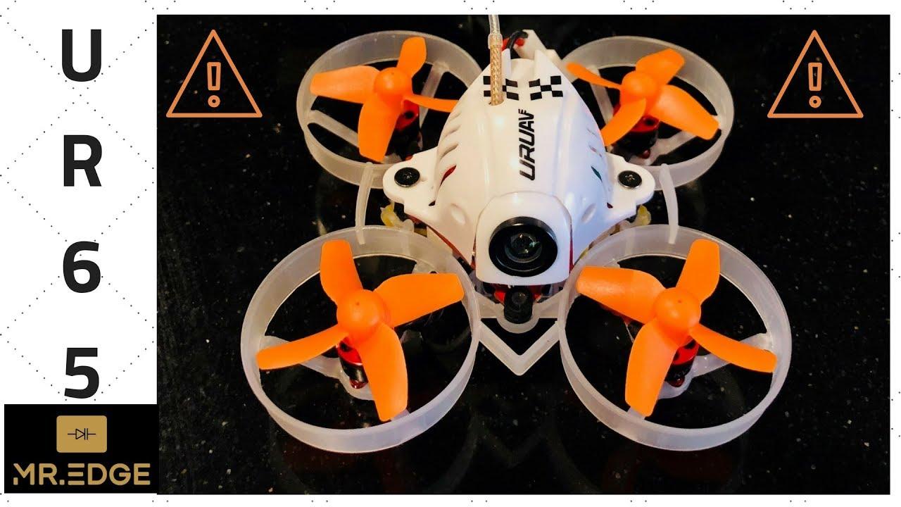 UR65 Quadprops + Betaflight + FlightTest by Mr  Edge