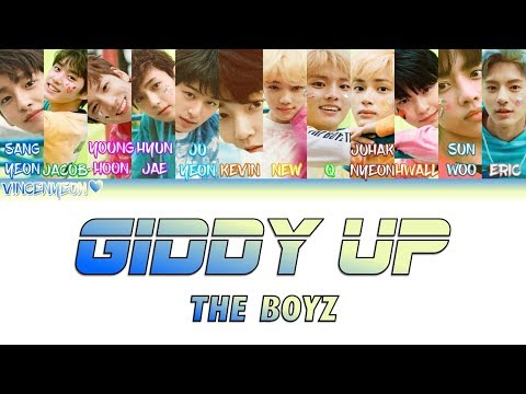 THE BOYZ(더보이즈) Giddy Up (ColorCoded Han/Rom/Eng) Lyrics