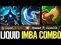 LIQUID COMBO - Miracle TECHIES Real CANCER Dota 2 Best plays Ever