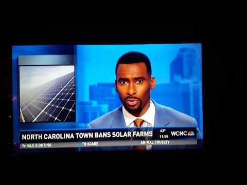N. Carolina town bans Solar Energy...because???