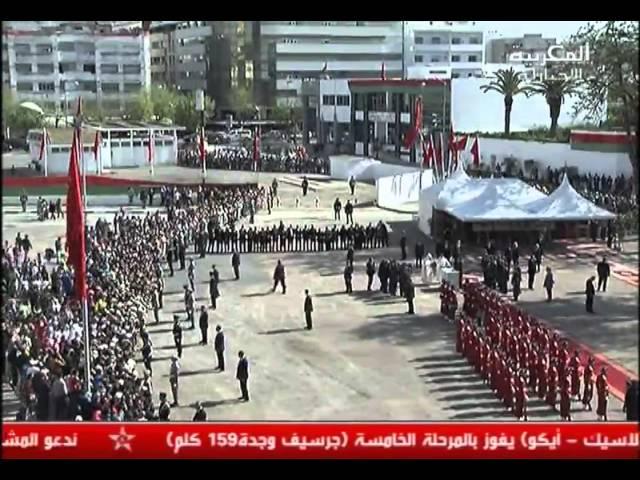 Inauguration de Sa Majesté le ROI Mohammed VI, complexe culturel Kénitra 07 04 2015
