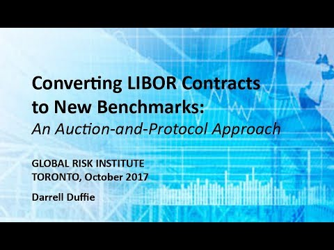 An Auction-and-Protocol Approach to Converting Legacy LIBOR Contracts to New Reference Rates