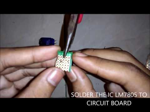INTEGRATED CIRCUIT (IC) LM7805