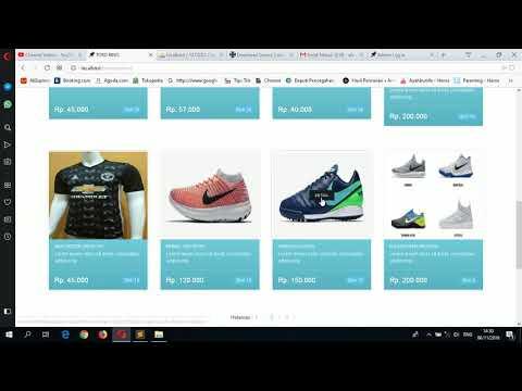 Membuat Aplikasi Toko Online Dengan Php