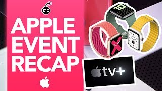 APPLE EVENT RECAP in Under 90 Seconds!