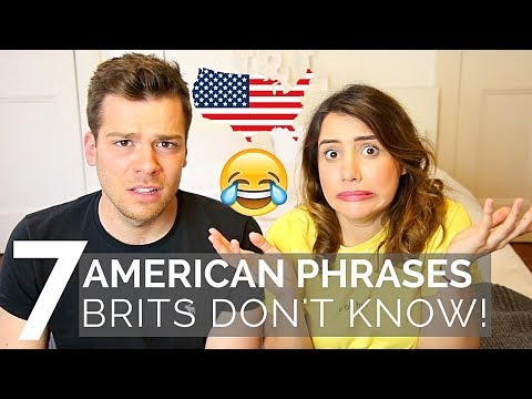 🇺🇸 AMERICAN Phrases BRITS Don't Understand! 🇬🇧| American vs British