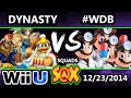 S@X - Dynasty (Blue) Vs. #WeDemBoys (Red) SSB4 Squads Winners Quarters - Smash 4v4
